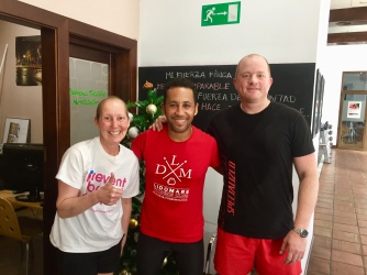 Spain - another one of our trainers getting us back in shape
