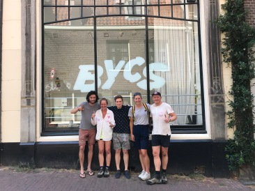 Netherlands - the team at BYCS