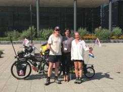 Netherlands - Netherland Cancer Institute and the lovely Sasha