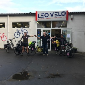 Germany - Helped us fix the bikes