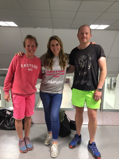 Manchester UK - Our friend Claire Sweeney