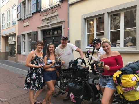 Germany - very helpful girls from America