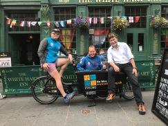 Edinburgh - Kim Harding Edinbrugh Festival of Cycling