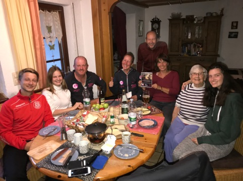 Germany - a lovely family we stayed with in the Black Forrest