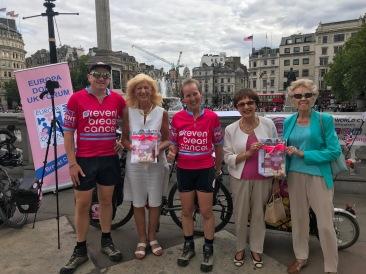 London UK - Europa Donna Cancer Coalation