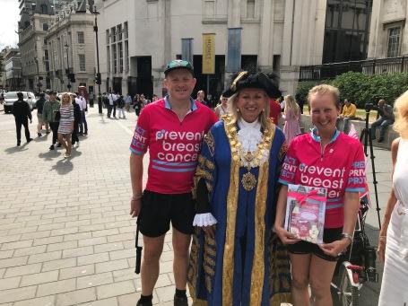 London UK - Worshipful Lord Mayor of Westminster Lindsey Hall