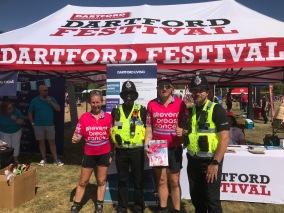 UK - Dartford helpful Police officers