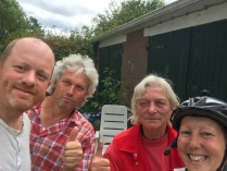 Netherlands - another lovely couple we stayed with on their campsite