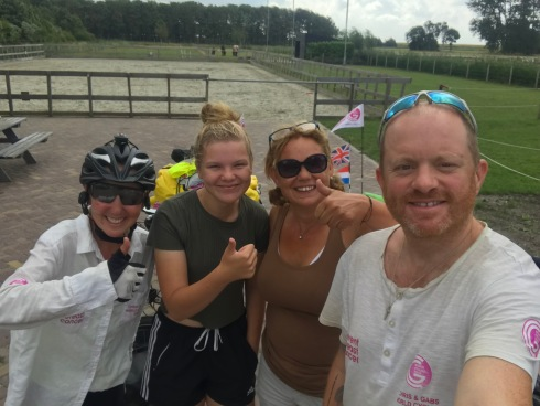 Netherlands - the first of many lovely families we stayed with