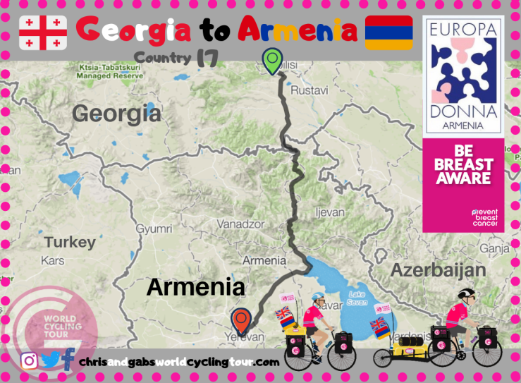 Georgia to Armenia